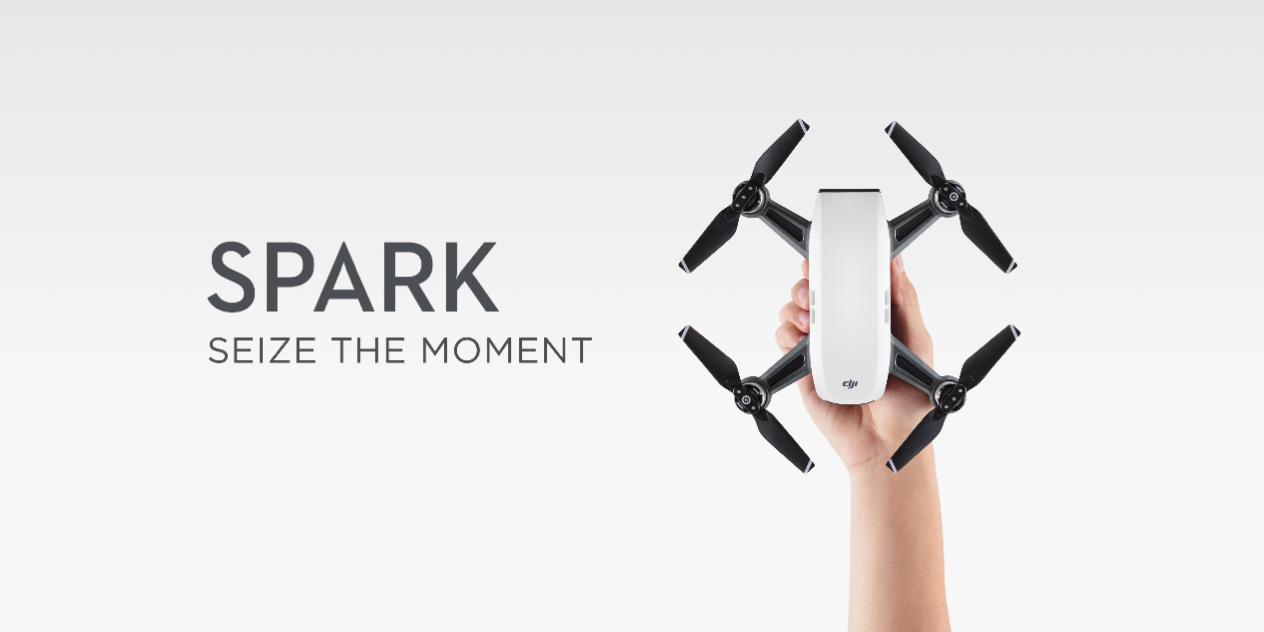 【DJI Spark】DJI渾身の一般向けコンパクトカメラドローンDJI Sparkを徹底解剖