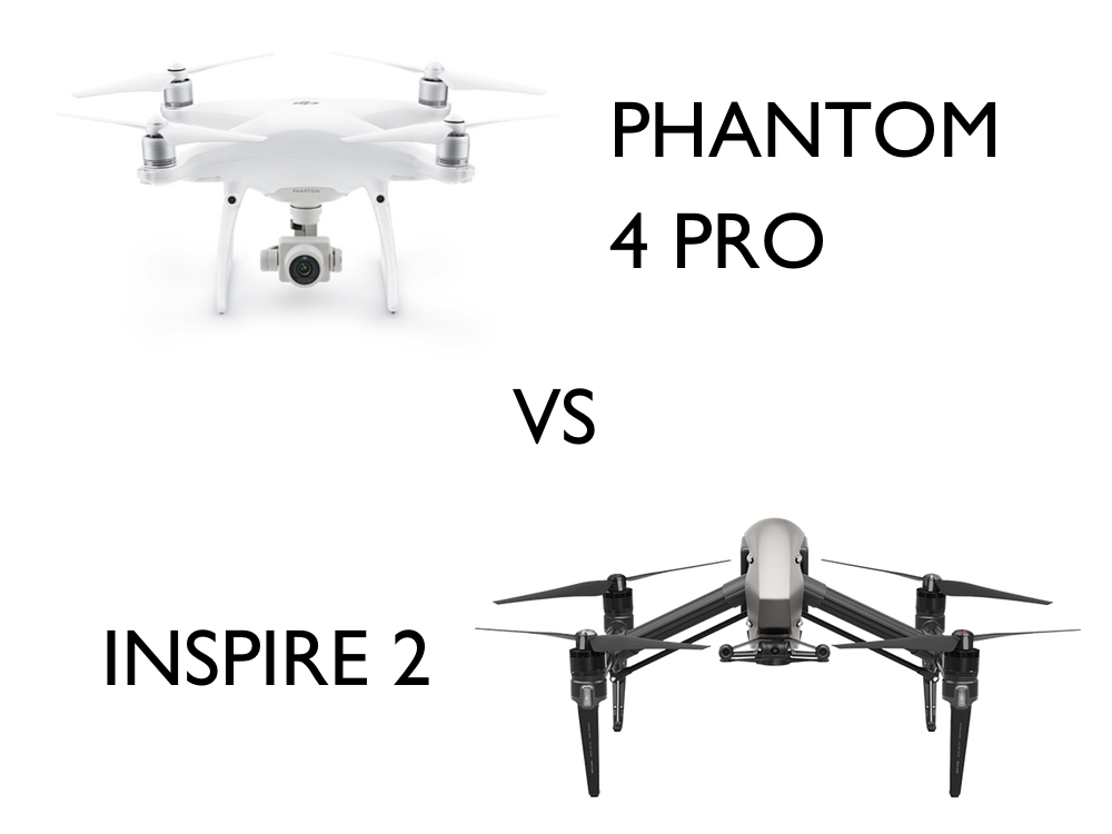 【DJIドローン比較】Phantom4ProとInspire2の映像の違いとは?