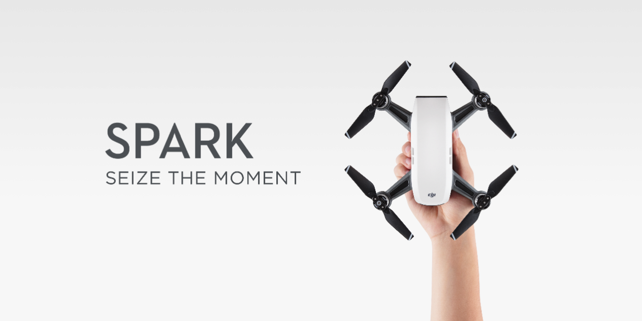 【DJI Spark】遂に発表! DJI渾身の一般向けコンパクトカメラドローンDJI Sparkを徹底解剖