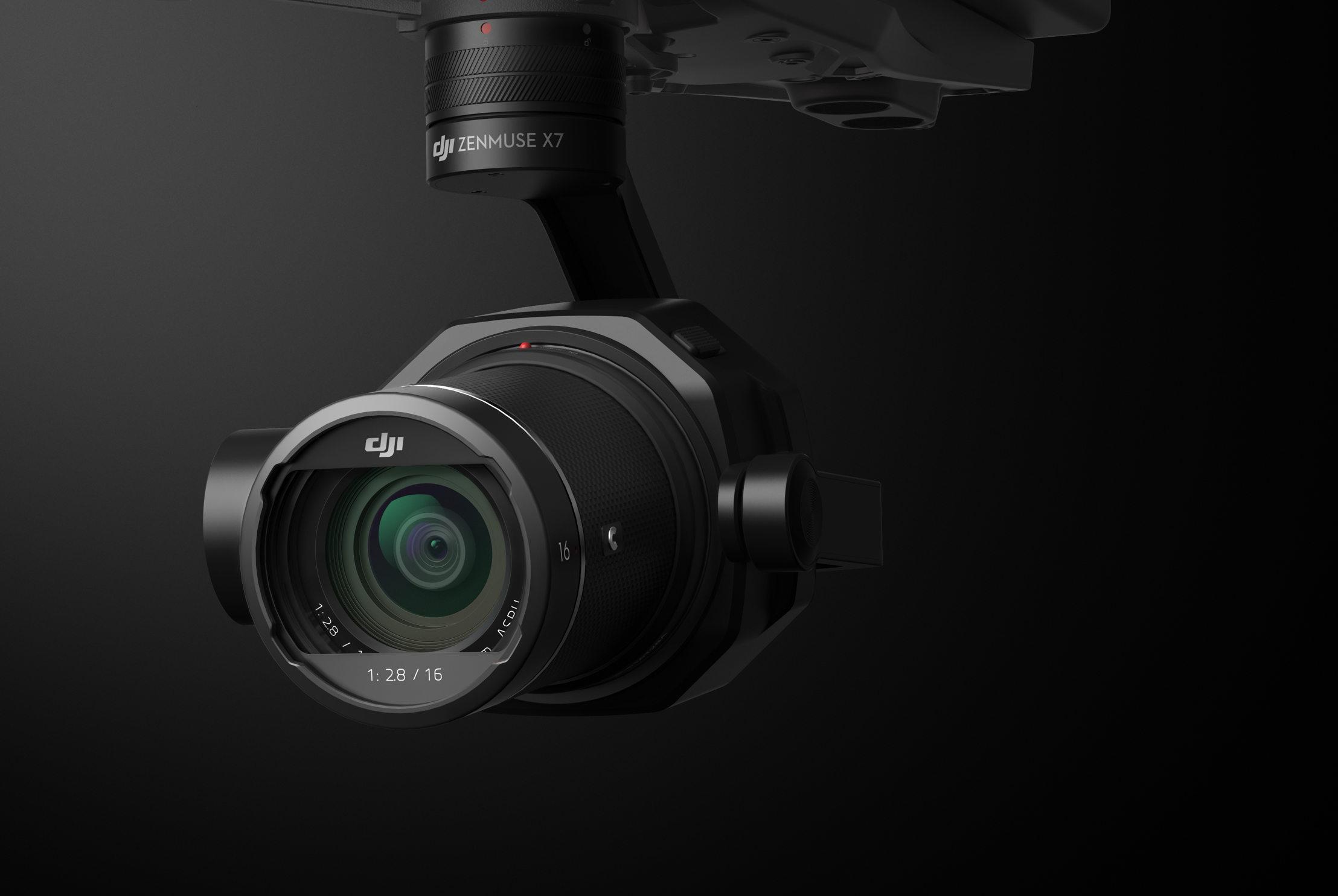ドローン向けスーパー35mmセンサー搭載カメラ「Zenmuse X7」の性能を徹底追求!【レビュー】