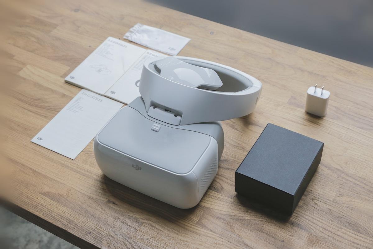 DJIのFPVゴーグル「DJI Goggles」レビュー:カメラドローンには最適なVRディスプレイ