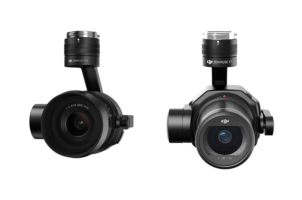 DJIのドローン用カメラ「X7」と「X5S」、買いなのはどっちだ?