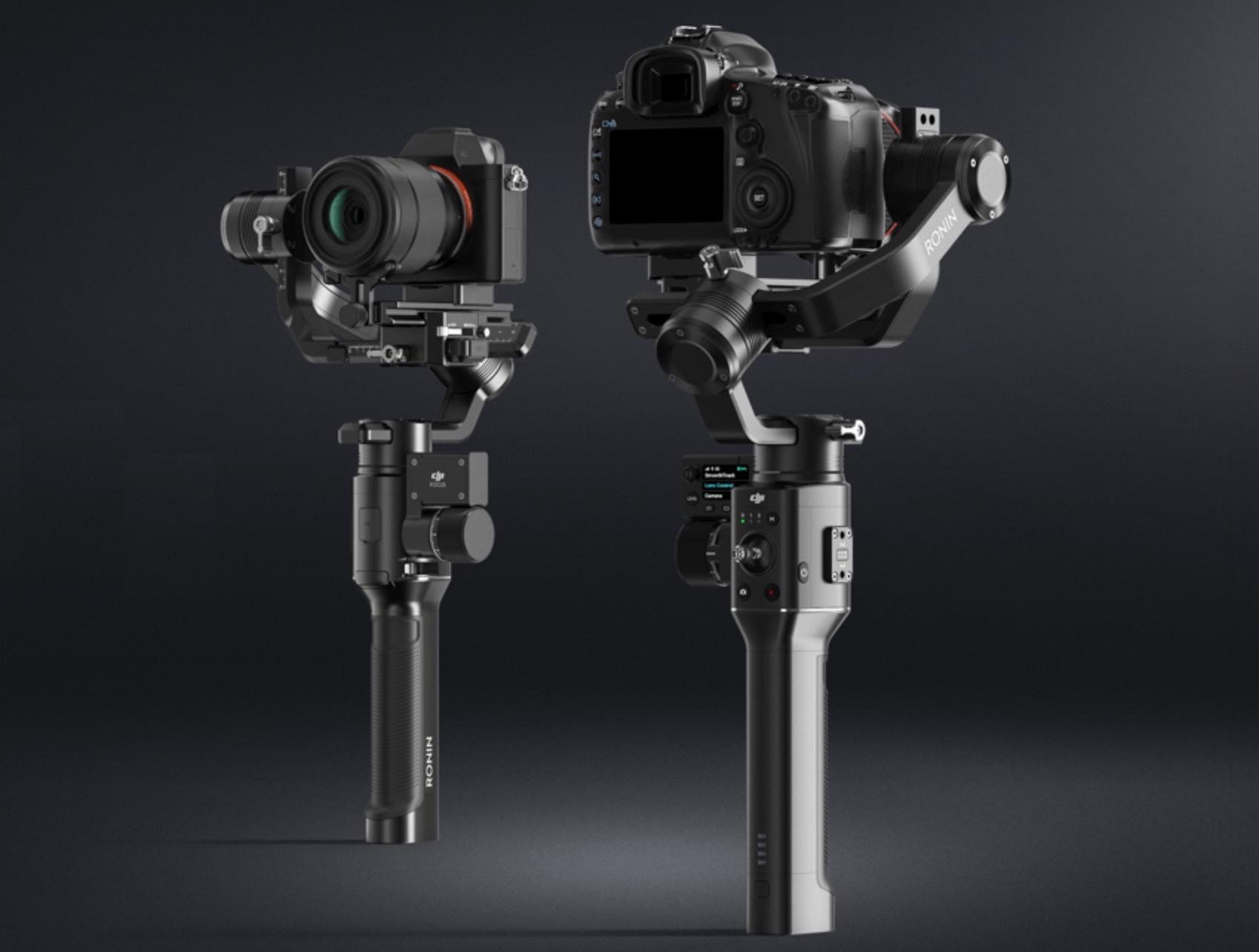 DJI、一眼カメラが利用できる片手用ジンバル「Ronin-S」発表