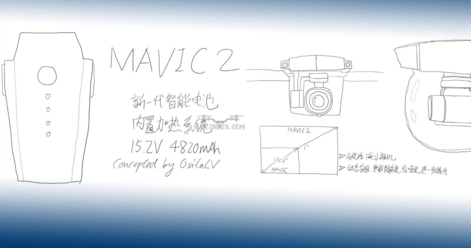 最新リーク情報!Mavic Pro Ⅱは、約14万円で3月22日(木)発売!