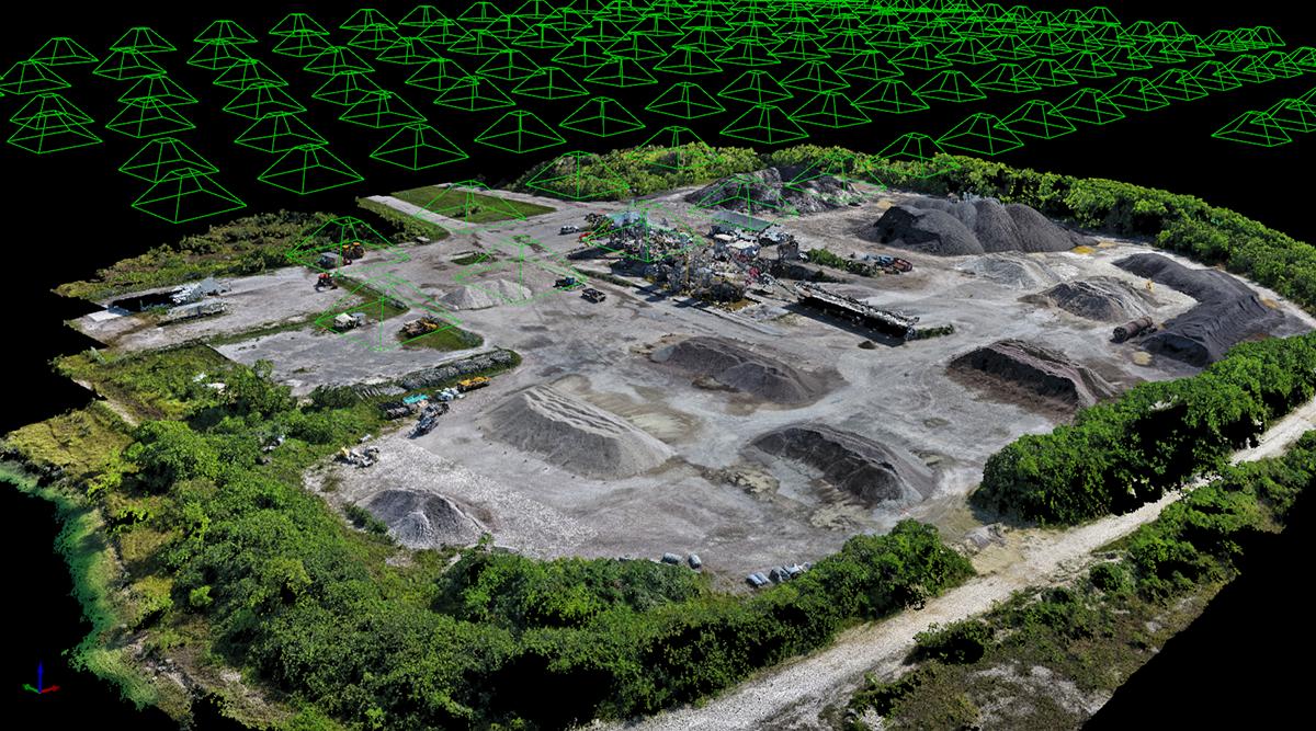 ドローン(UAV)を使った測量のメリットとデメリットとは?従来の測量手法と比較!