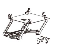 Zenmuse X Series Mounting Kit