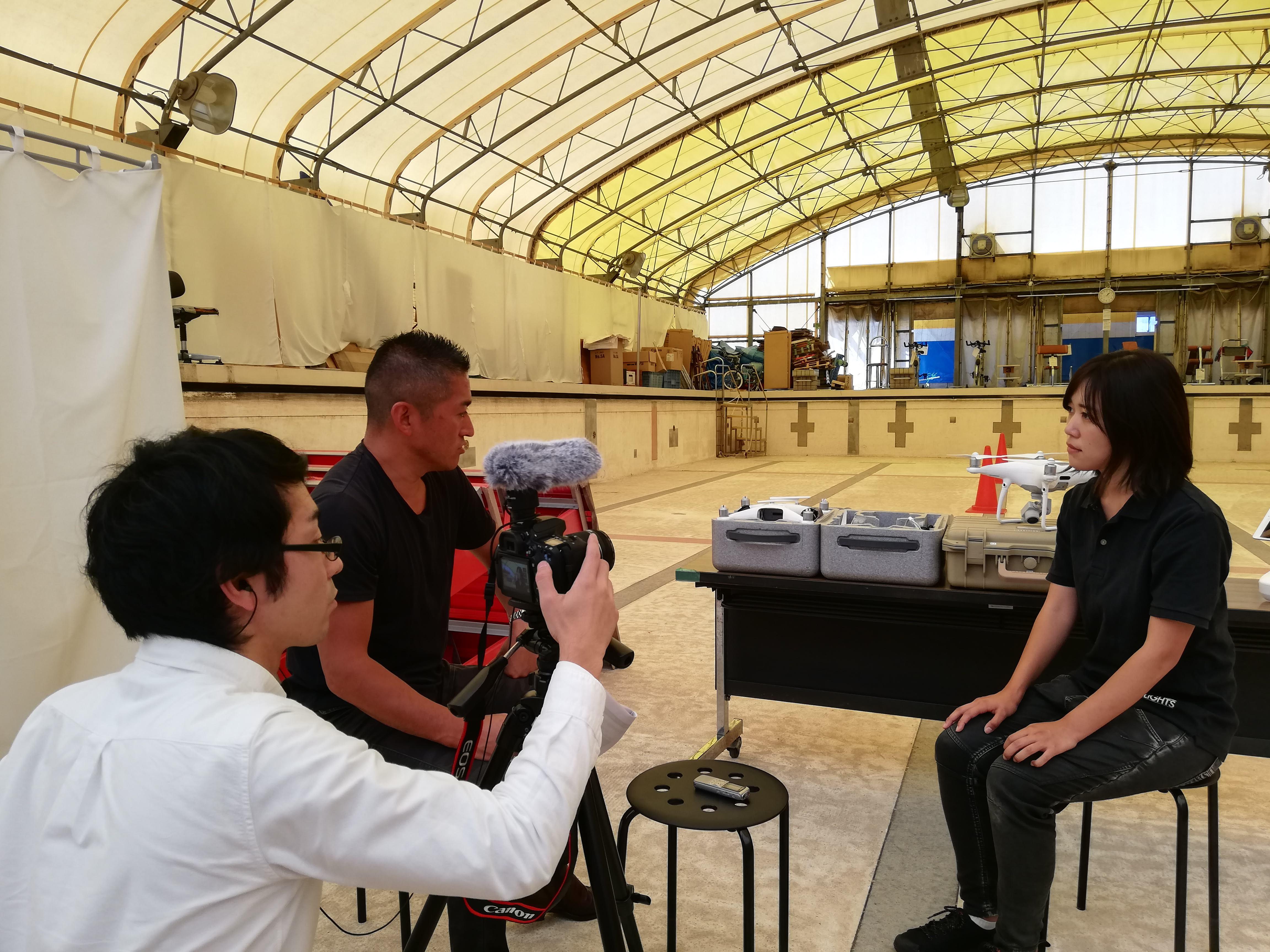 弊社ドローンパイロット堀内が、匠の一人としてGrateful Japanで紹介されました!