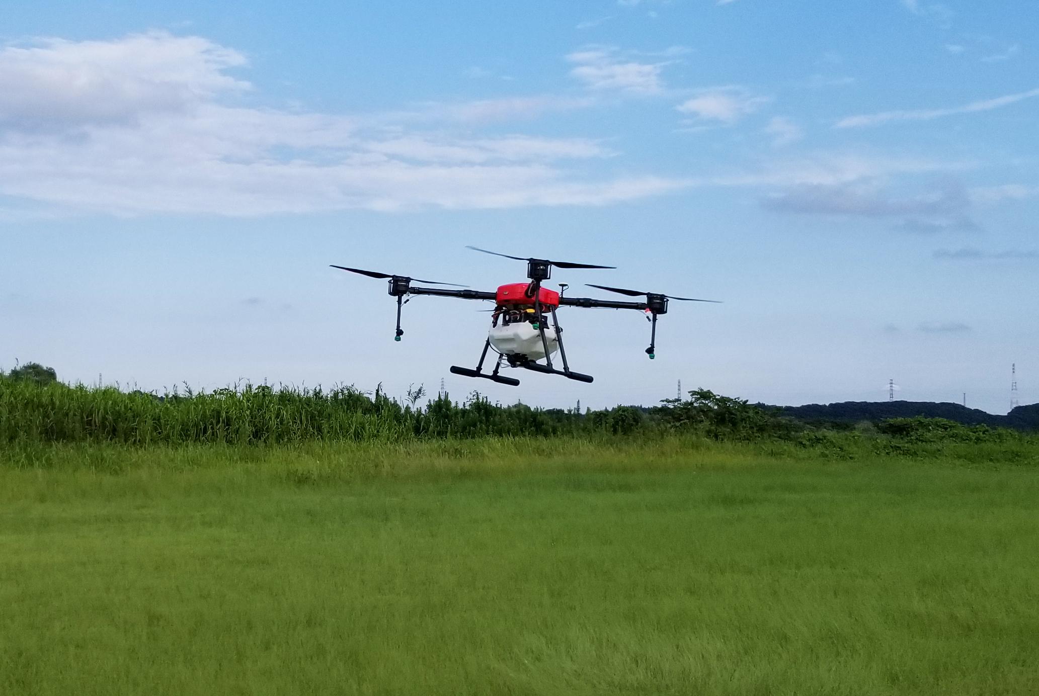 農薬散布ドローン「FLIGHTS-AG」 機能を改善、拡充した新モデルを9月より販売開始